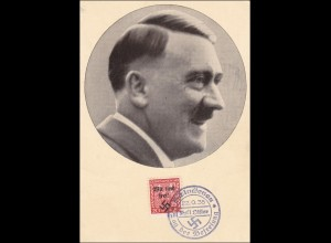 B&M: Propaganda Karte 1938