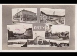 B&M: Ansichtskarte Josefov Dienstpost/Feldpost Standortarzt