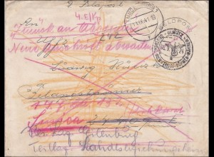 B&M: Brief aus Ölmütz - Feldpost - Lindenburg 1941