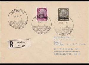 Luxemburg: Einschreiben 1941 nach München