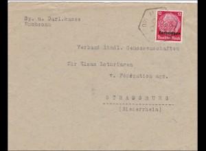 Lothringen: 1940, Mombronn nach Straßburg