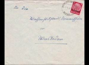 Lothringen: 1940: Stiring Wendel/Mosel an Waffenstillstands-Kommission Wiesbaden
