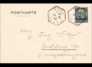 Elsass: Russ Bas Rhin 1940 nach Strassburg