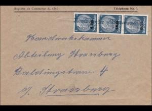 Elsass: Romansweiler nach Strassbuorg 1940