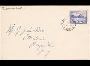 Kanalinseln: FDC von Jersey 1943