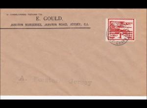 Kanalinseln: Brief aus Jersey 1943