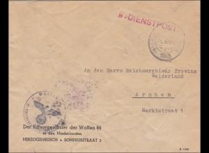 SS-Dienstpost - Niederlande, Herzogenbusch nach Arnheim 1942