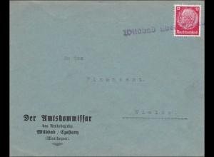 Warthegau: Amtskommissar Wildbad Czastary nach Wielun