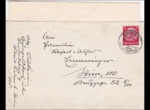 Günselsdorf über Leubersdorf 1941, Brief mit Inhalt