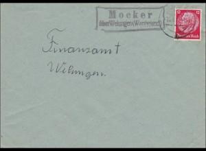 Brief Wartheland Mocker über Welungen 1941