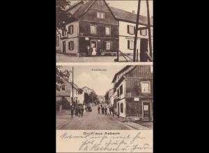 Ansichtskarte AK: Gruß aus Asbach Gastwirtschaft 1927