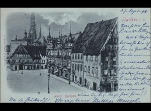 Ansichtskarte AK: Zwickau i.S. 1898