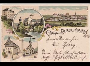 Ansichtskarte AK: Gruss aus Burgkundstadt 1898