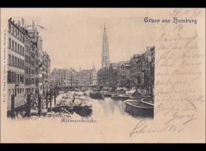 Ansichtskarte AK: Gruss aus Hamburg 1898
