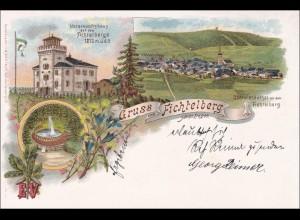 Ansichtskarte AK: Gruss aus Fichtelberg Erzgebirge