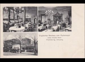 Ansichtskarte AK: Hamburg, Englisches Bierhaus 1910