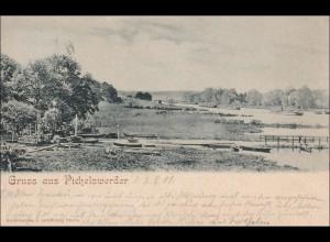 Ansichtskarte AK: Gruss aus Pichelswerder 1901