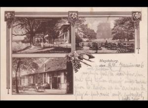 Ansichtskarte AK: Magdeburg 1926