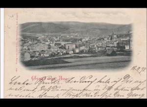 Ansichtskarte AK: Gruss aus Aue 1898