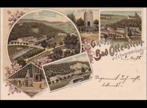 Ansichtskarte AK: Gruss aus Ottenstein/Schwarzenberg 1898