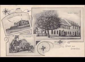 Ansichtskarte AK: Gruss aus Unterlüss 1910