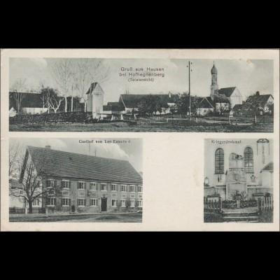 Ansichtskarte AK: Gruss aus Hausen bei Hofhegnenberg 1934