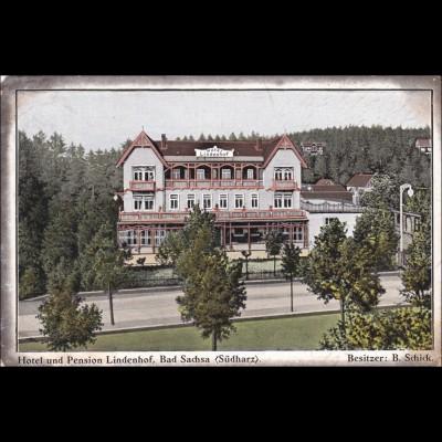Ansichtskarte AK: Bad Sachsa, Südharz, 1914