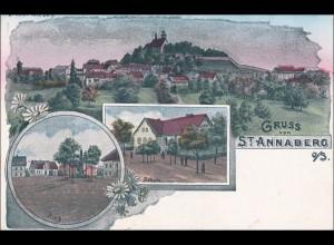 Ansichtskarte AK: Gruss von St. Annaberg