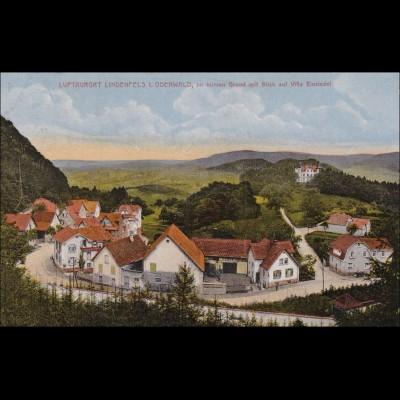 Ansichtskarte AK: Lindenfels im Odenwald 1924