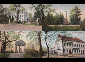 Ansichtskarte AK: Schwerin/Cüstrin 1910