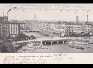 Ansichtskarte AK: Hamburg 1898