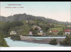 Ansichtskarte AK: Vorstadt Berlichingen 1909