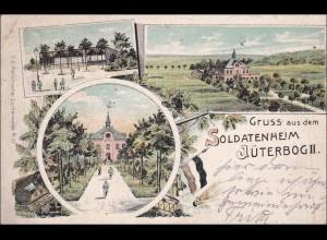 Ansichtskarte AK: Gruss aus dem Soldatenheim-Jüterbog II 1915