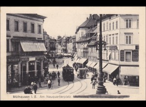 Ansichtskarte AK: Mühlhausen i. Elsass, Feldpost I. WK
