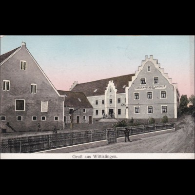 Ansichtskarte AK: Gruss aus Wittislingen