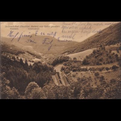 Ansichtskarte AK: Sulzbach-Bad Reuchtal 1922-Lautenbach
