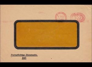 Freistempel: Reichsversicherungsanstalt für Angestellte 1922 Berlin Wilmersdorf