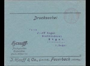 Gebühr bezahlt: Fotoplatten Feuerbach