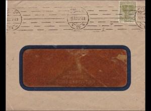 Perfin: Brief aus Berlin, Max Krause, Klischees, MK