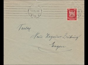 Perfin: Brief 1925,