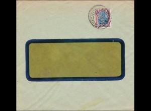 Perfin: Brief aus Kirchheim Teck, 1922, Otto Ficker AG,