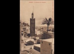 Marokko: Ansichtskarte aus Tanger, 1909 nach Essen
