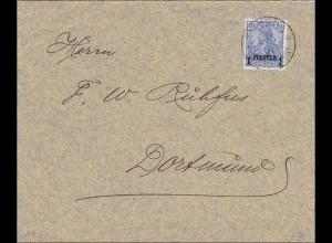 Türkei: Brief von Smyrne nach Dortmund 1904, 14II