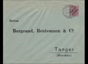 Marokko: Brief von Tanger 1901