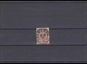Kamerun: V50 auf Briefausschnitt mit Stempel Kamerun 1896