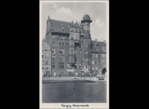 Danzig: Ansichtskarte als Feldpost 1942 an FP Nummer 13740