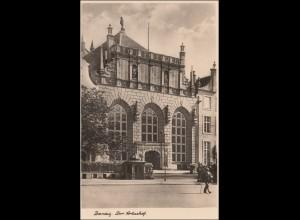 Danzig: Ansichtskarte Artushof als Feldpost 1942 nach Neukölln