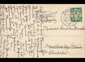 Danzig: Ansichtskarte St. Marien 1937 nach Meuselwitz