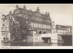 Danzig: Ansichtskarte Feldpost Schiffbauerlehrabteilung 1942