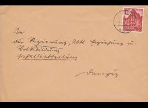 Danzig: Brief 1940